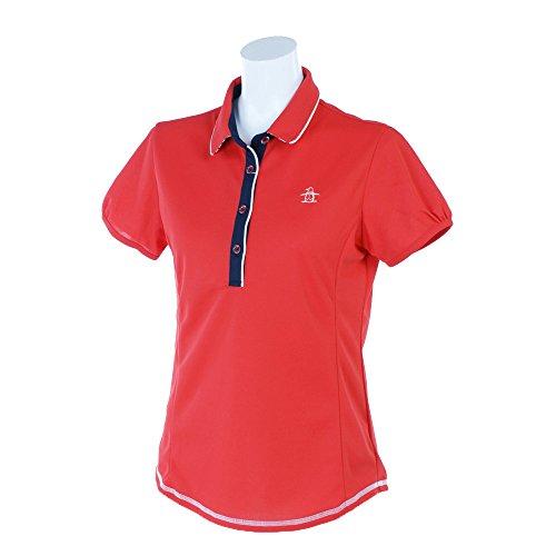 マンシングウェア(Munsingwear) レディース 半袖ポロシャツ JWLJ205 R397 レッド M