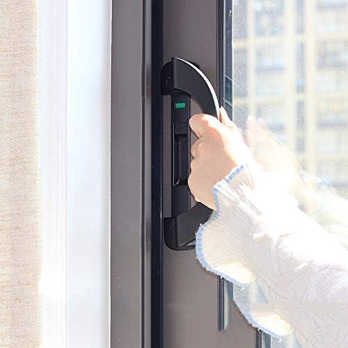 alu//plata 90 x 22 mm 40110310K1 Manija de la puerta deslizante de aluminio Alpertec balc/ón mango