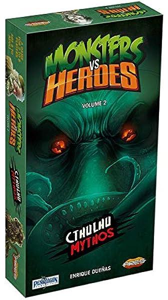 Monsters vs. Heroes: Volume 2 – Cthulhu Mythos - English: Amazon.es: Juguetes y juegos