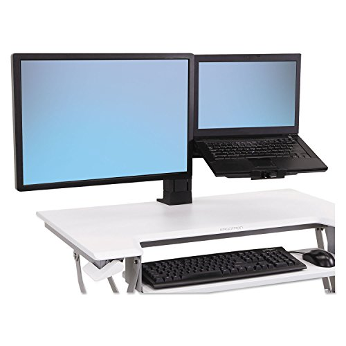 WorkFit-T and WorkFit-PD Conversion Kit, LCD & Laptop Kit, Black [ESS]