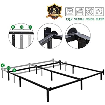 Amazon Com Haageep Queen Size Bed Frame For Box Spring