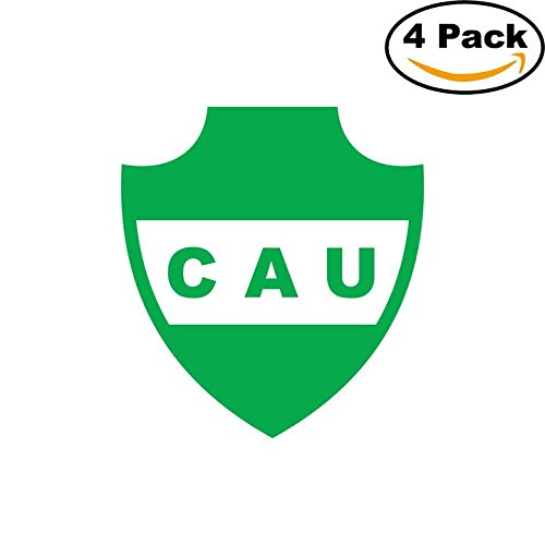 Club Atletico Union de Sunchales Argentina Soccer Football Club FC 4 Stickers Car Bumper Window Sticker Decal 4X4