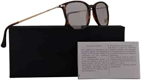 8dd1296e52999 Persol PO3146V Eyeglasses 53-19-140 Havana w Demo Clear Lens 24 PO3146