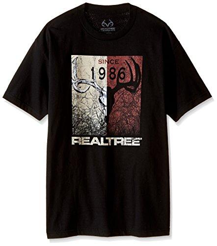 - Realtree Since 86 Screen Print Tee, XX-Large, Black