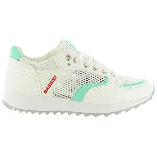 Mujer Blanco C Zapatillas BASS3D Deporte 41285 de O6wwvEaqR
