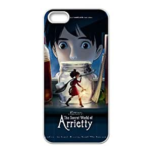 Arrietty Anime iPhone5s Cell Phone Case White 05Go-246772