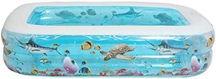 インフレータブルプール - ファミリーパーティーウォータースポーツのための家庭用インフレータブル特大折り畳み式のスイミング厚みの屋内キッズバースバケット (Size : M)
