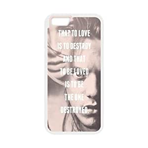 """Qxhu The Mortal Instruments City of Bones patterns Hard Plastic Cover Case for Iphone6 4.7"""""""