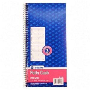 ABFSC1156 - Adams Two Part Petty Cash Book
