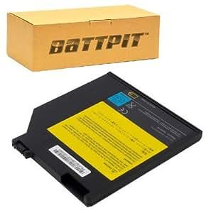 Battpit Bateria de repuesto para portátiles IBM ThinkPad R51e 1862 (2000 mah)(Ultrabay Secondary Battery)