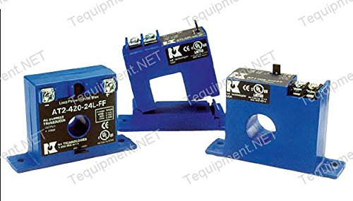 NK Technologies AT1-420-24L-FT AC Current Transducer, Solid-core, Top Term, 4-20mA Output Range, 0-10, 0-20, 0-50A Input Range, 12-40VDC Power Supply