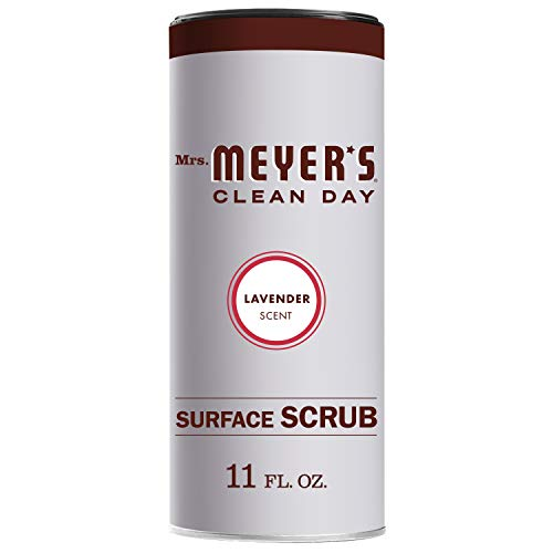 Mrs. Meyer's Clean Day Surface Scrub, Lavender, 11 Ounce Bottle