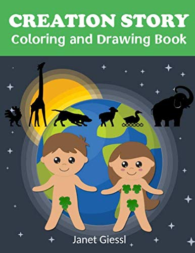 Creation Story Coloring and Drawing Book