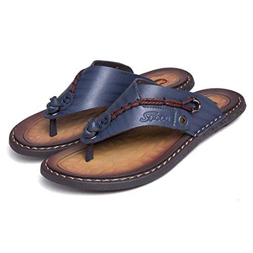 Suaves Blue Sandalias Chanclas Verano para Hombres De Ocasionales Sandalias x7AS8YA
