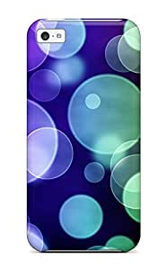 Premium Pretty Bubbly Heavy-duty Protection Case For Iphone 5c
