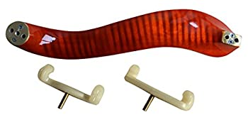 Ymc Violin-shoulder-rest-maple-34-44 New Deluxe Maple Wood Violin Shoulder Rest 34 44 Size 4