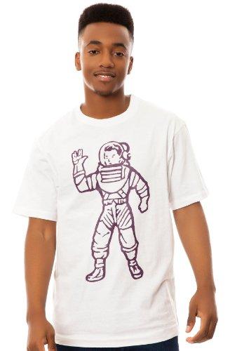 Billionaire Boys Club Men's Full Astronaut Tee Extra Large White