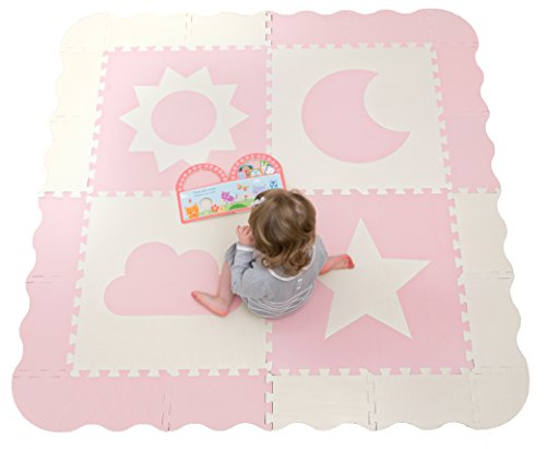 - Foam Baby Play Mat Tiles with Fence- 61