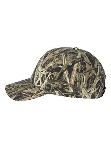 Mossy Oak Shadow Grass Hat - Mossy Oak Adjustable Plastic Snap Closure Blank Cap, Mossy Oak Shadow Grass Blades Camo