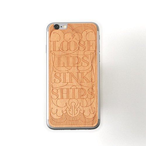 Lazerwood Loose Lips Cherry Skin für Apple iPhone 6