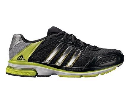 Scarpe Da Running Adidas Mens Snova Glide 4 (15, Nero / Argento Metallizzato / Elettricità)