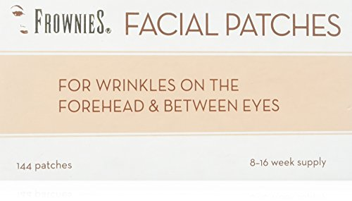 Frownies (FBE) Forehead & Between Eyes, 144 Patches (Pack of 3)