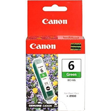 NEW BCI-6G Green Ink Cartridge For Canon Printers (Computer)