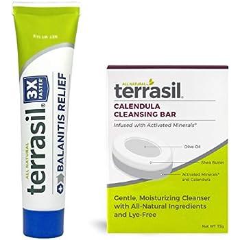 Amazon com: Terrasil® Balanitis Relief - 100% Guaranteed