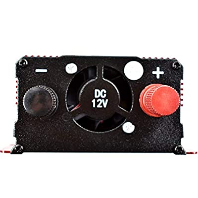 1000W DC 24V to AC 110V Portable Car LCD Power Inverter WATT Charger Converter