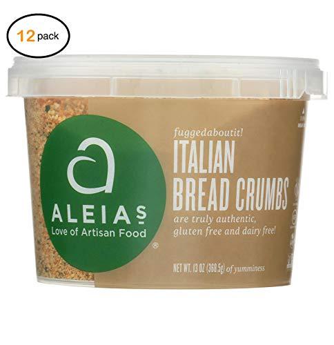 Alеia's Glutеn Frее Brеad Crumbs - Italian - Casе оf 12-13 оz. - Bulk Buy by Alеia's (Image #1)