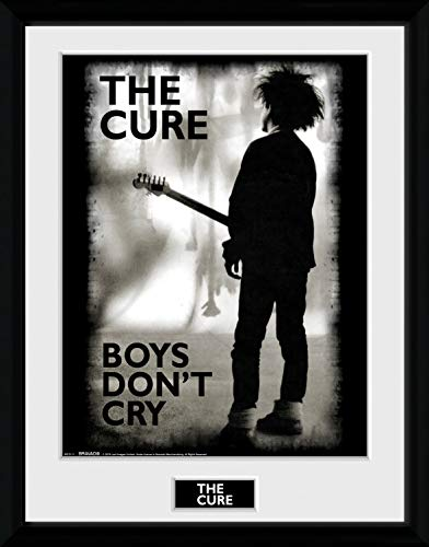 The Cure Framed Collector Poster - Boys Don't Cry (16 x 12 inches)