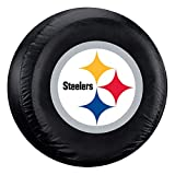 Fremont Die NFL Pittsburgh Steelers Tire Cover, Standard Size (27-29' Diameter)