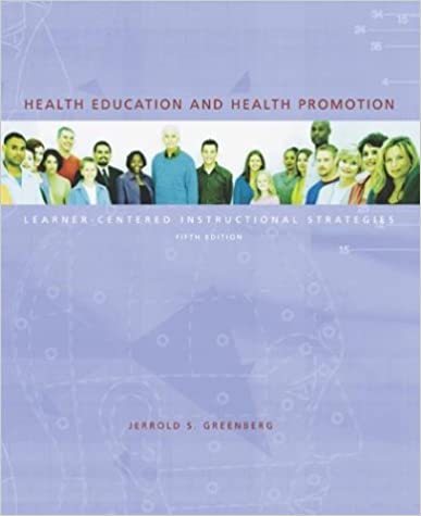 Health Education And Health Promotion Learner Centered
