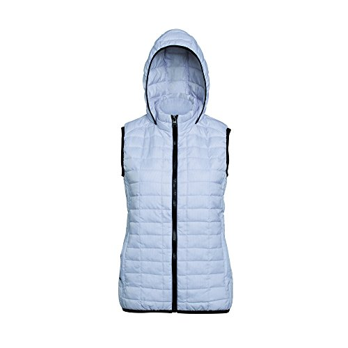 con de chaqueta Honeycomb Chaleco mujer 000 gris para mujer 2786 acero capucha 5qSwn60