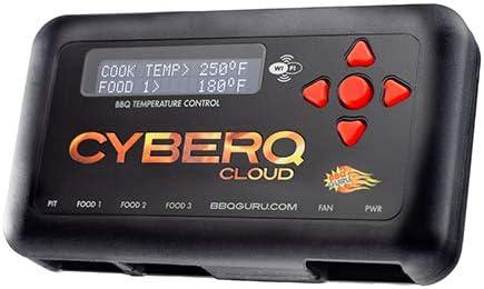 CyberQ BBQ Temperature Controller & Digital Meat Thermometer - Oven-Like Precision