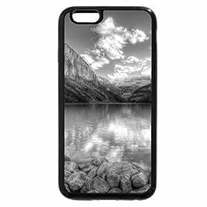 iPhone 6S Plus Case, iPhone 6 Plus Case (Black & White) - Mountains