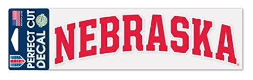 Huskers Decal - WinCraft NCAA Nebraska Cornhuskers 3 x 10 inch Perfect Cut Decal Sticker by