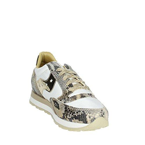 Sneakers White Beige Low NPL001 Women Pregunta PACK49 qXfFtt