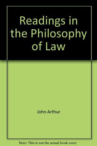 Readings in philosophy of law