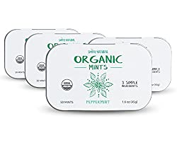 Simply Natural Organic Breath Mints, Peppermint