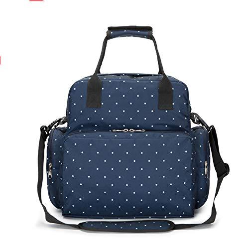 CYLSK Baby Diaper Bag Multi-Function Mummy Bag,Blue ()
