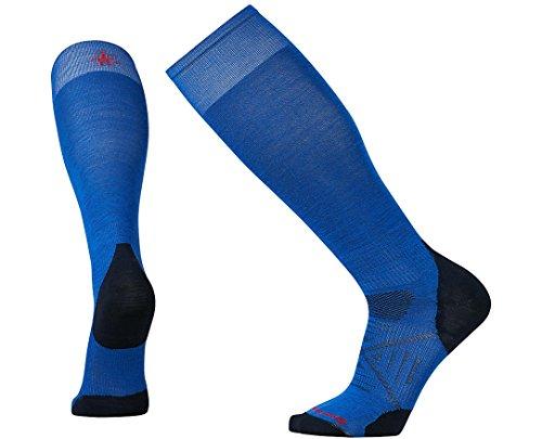 Smartwool Mens PhD Ski Ultra Light Socks (Bright Blue) Large