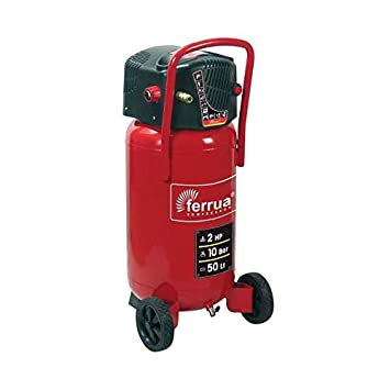 FERRUA Compresseur dair vertical 50 L sans huile 2 CV 10 bars