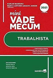 Mini Vade Mecum Trabalhista - 3 ª Edição 2021