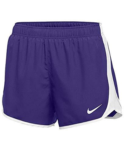 Nike Dry Tempo Short (Purple/White/White/(White), Medium)