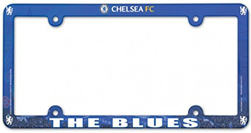 English Premiership Chelsea FC Plastic License Plate Frame ()