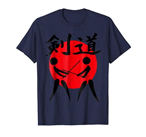 Japanese kendo martial art t-shirt for men, women, and kid's