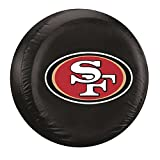 NFL San Francisco 49ers Tire Cover, Standard, Black