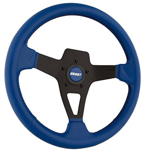 Grant 8526 Edge Series Steering Wheel, Blue Vinyl, 1 Pack
