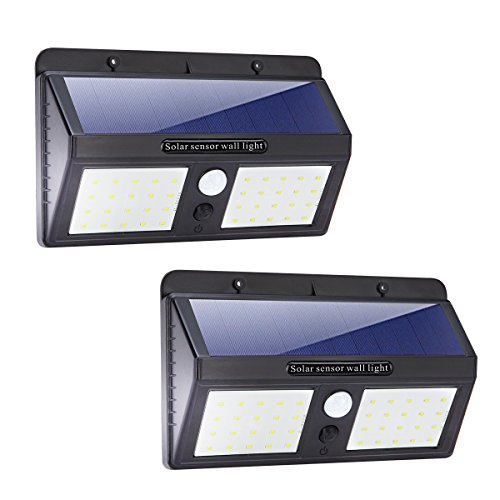 Bright lights, easy to install. Theft deterrent!!!